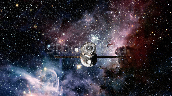 Spacecraft Progress orbiting the space. Stock photo © NASA_images