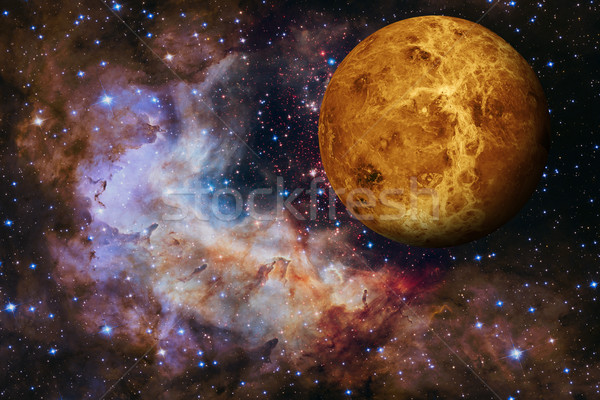 Solar System - Venus. Elements of this image furnished by NASA. Stock photo © NASA_images