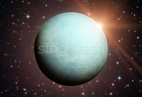 Solar System - Uranus. It is the seventh planet from the Sun. Stock photo © NASA_images