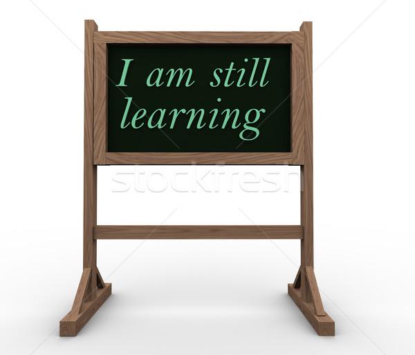 I am still learning Stock photo © nasirkhan