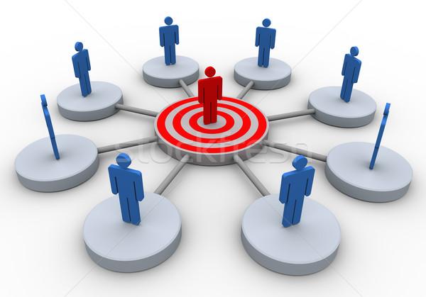 Business communication Stock photo © nasirkhan