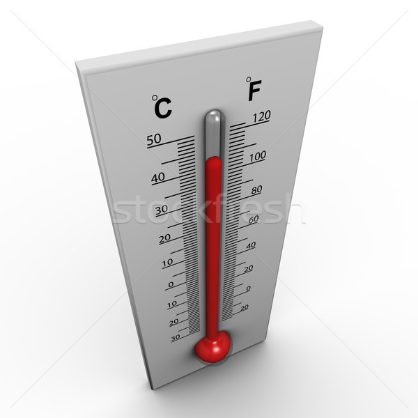 3d thermometer Stock photo © nasirkhan
