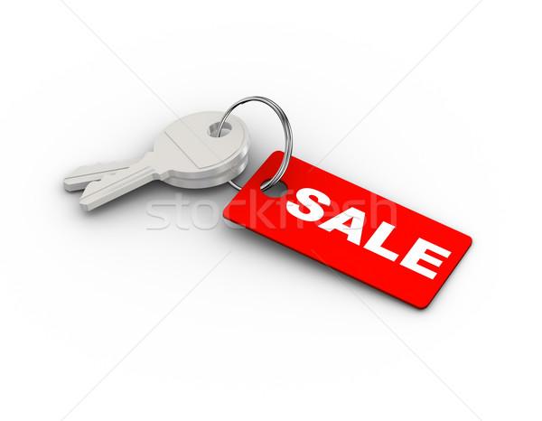 3d sale keychain Stock photo © nasirkhan