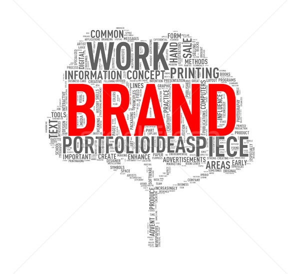 Сток-фото: дерево · форма · марка · иллюстрация