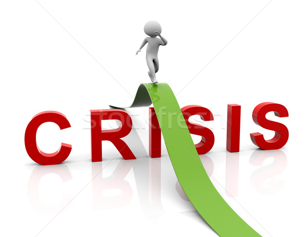 Crisis management strategy Stock photo © nasirkhan