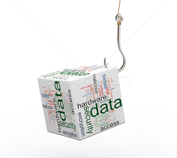 3D phishing dados Foto stock © nasirkhan