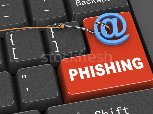 3D clavier malware phishing Photo stock © nasirkhan