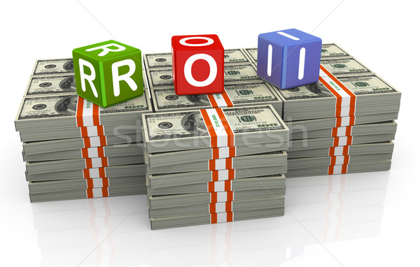 3d colorful textbox roi Stock photo © nasirkhan