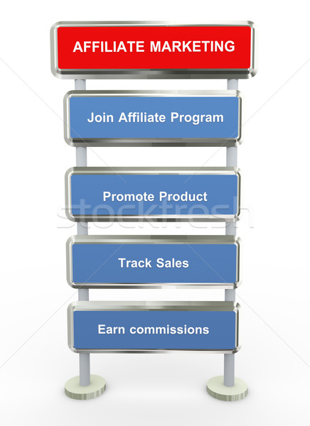 Affiliate marketing  Stock photo © nasirkhan