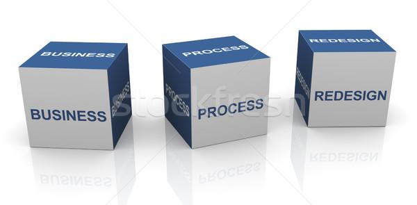 BPR - Business process redesign Stock photo © nasirkhan