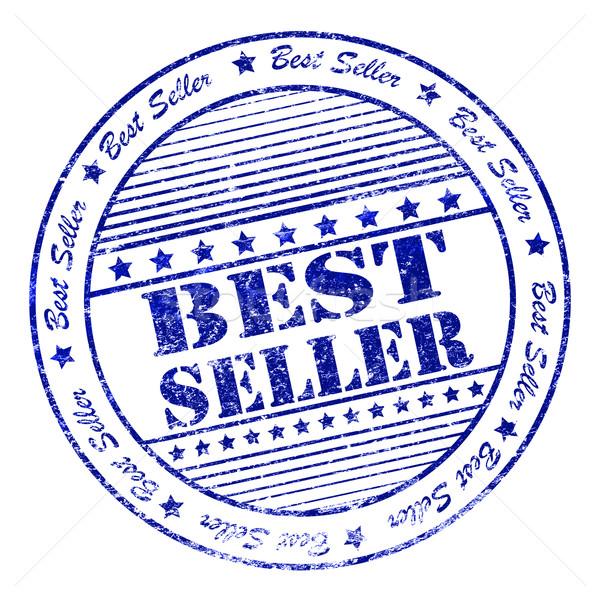 Grunge best seller rubber stamp Stock photo © nasirkhan
