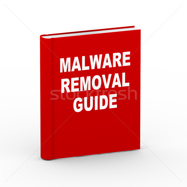 3d malware removal guide book Stock photo © nasirkhan