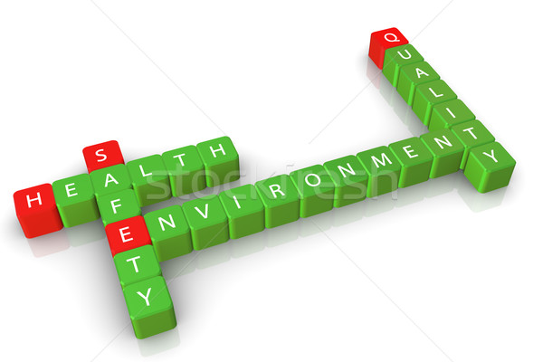 Safety health environment quality Stock photo © nasirkhan