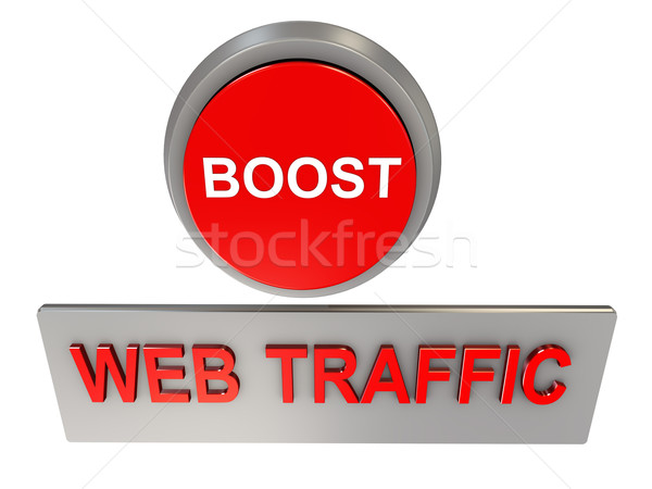 Web traffic boost Stock photo © nasirkhan