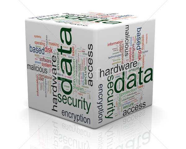 Concept of data protection  Stock photo © nasirkhan
