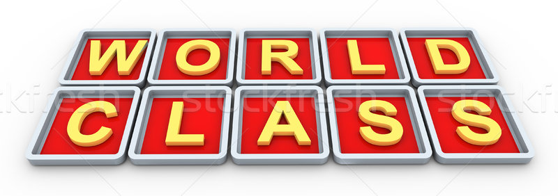 3d wordclass Stock photo © nasirkhan