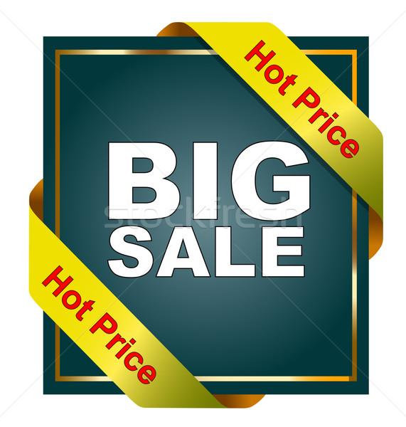 Big sale Stock photo © nasirkhan