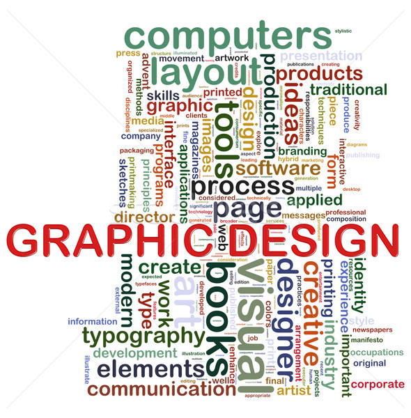 Graphic design tags Stock photo © nasirkhan