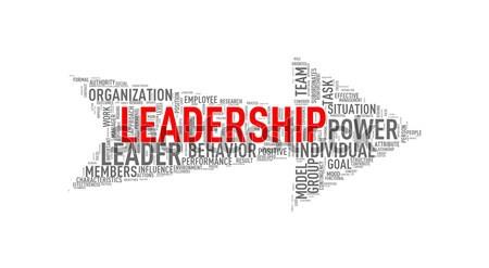 Arrow shape wordtag wordcloud leadership Stock photo © nasirkhan