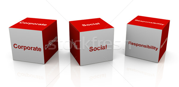 corporate social responsibility Stock photo © nasirkhan