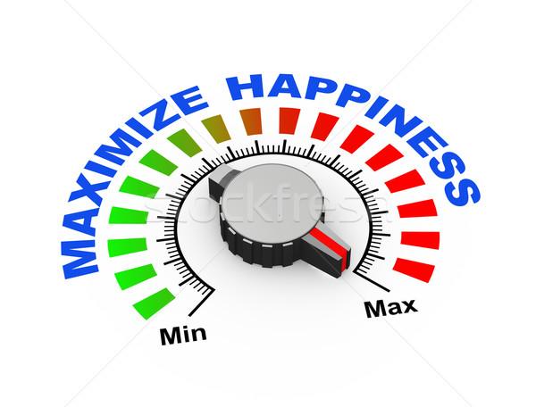 3D счастье 3d иллюстрации набор максимальный Сток-фото © nasirkhan