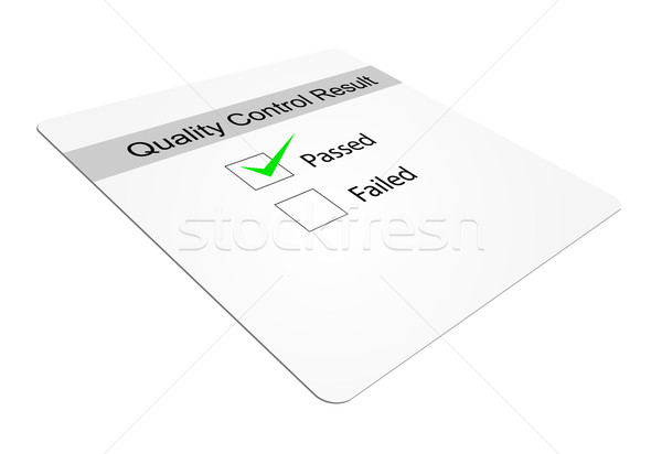 Quality Control Stock photo © nasirkhan