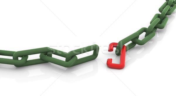 Broken chain Stock photo © nasirkhan