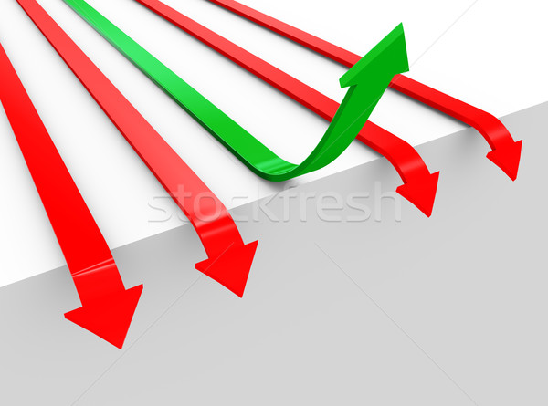 3d concept of overcoming problems Stock photo © nasirkhan