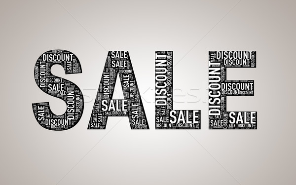 Special sale discount wordcloud Stock photo © nasirkhan