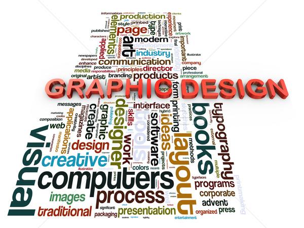 Stockfoto: 3D · grafisch · ontwerp · 3d · render · internet