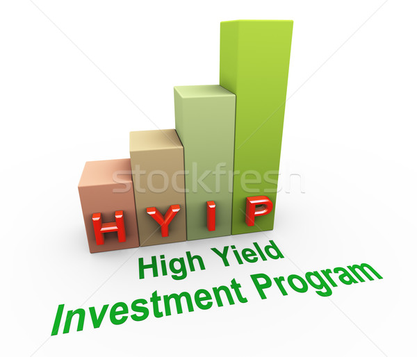 hyip high yield investment program Stock photo © nasirkhan