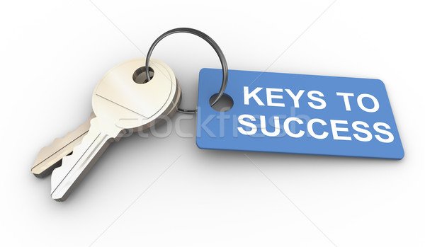 Keys to success Stock photo © nasirkhan