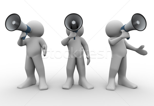 Stockfoto: 3d · mensen · 3d · render · mensen · 3d · illustration · menselijke