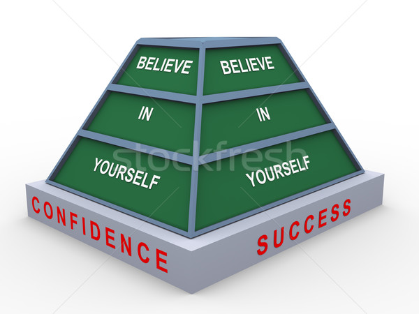 Believe in yourself Stock photo © nasirkhan
