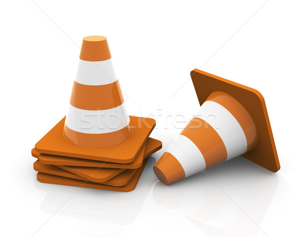 Traffic cone Stock photo © nasirkhan