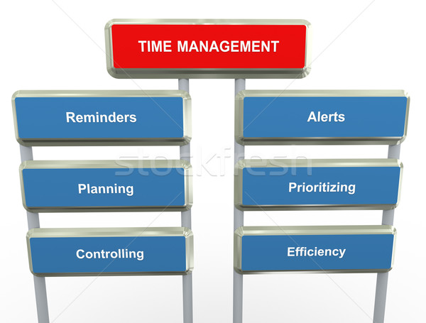 Time management Stock photo © nasirkhan