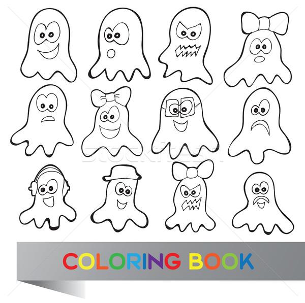 Coloring book Halloween  Stock photo © Natali_Brill