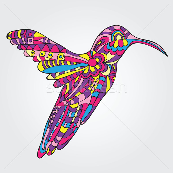 Vector Hummingbird  Stock photo © Natali_Brill