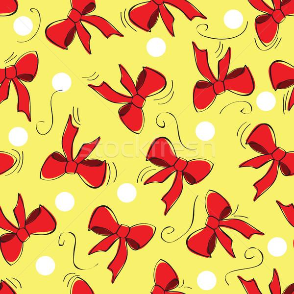 Arcos vector patrón ilustración textura Foto stock © Natali_Brill