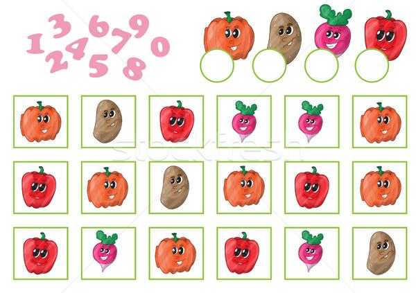 漫画 教育 ゲーム 幼稚園 子供 自然 ストックフォト © Natali_Brill