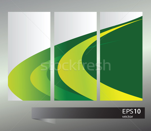 Set of banners with vector  elements Stock photo © Natali_Brill