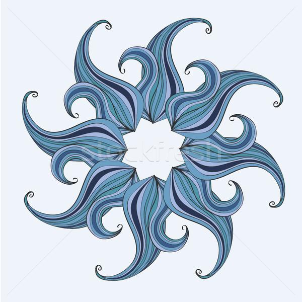 Mandala diseno imagen primavera pelo Foto stock © Natali_Brill