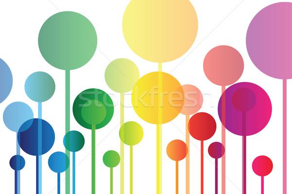 Colorful background Stock photo © Natali_Brill
