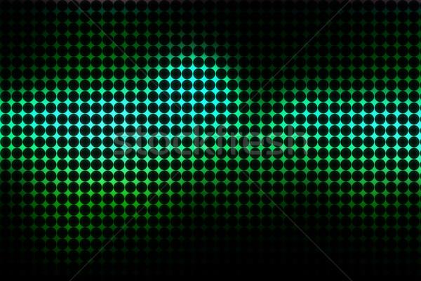 Foto stock: Escuro · discoteca · projeto · azul · brilhante · verde