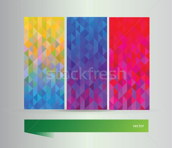 Conjunto banners vetor elementos projeto negócio Foto stock © Natali_Brill