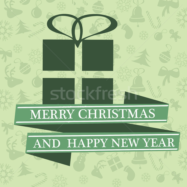クリスマス 装飾 紙 ツリー デザイン ストックフォト © Natali_Brill