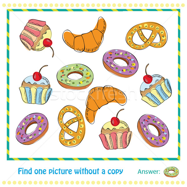 Vector Illustration - Educational Game for Children Stock photo © Natali_Brill