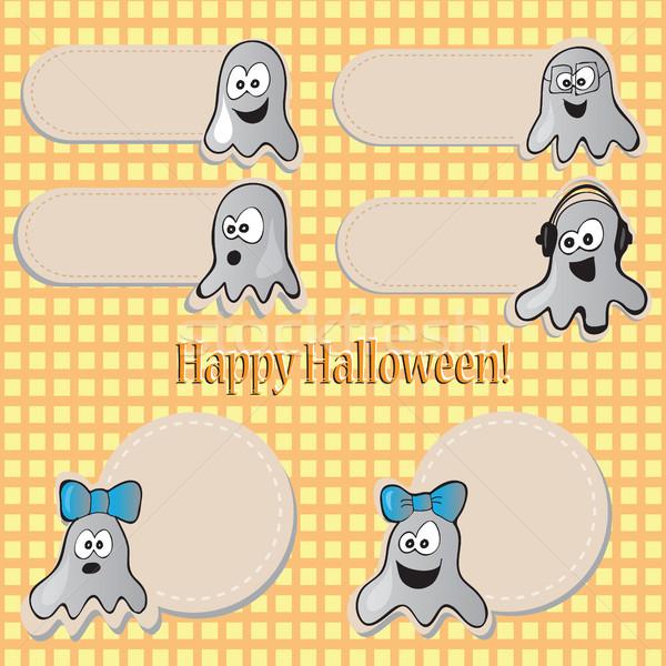 Halloween set Stock photo © Natali_Brill