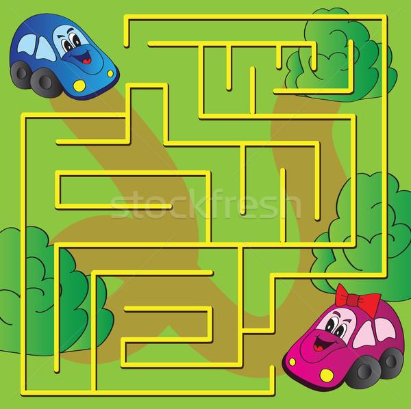 Vector maze game  Stock photo © Natali_Brill