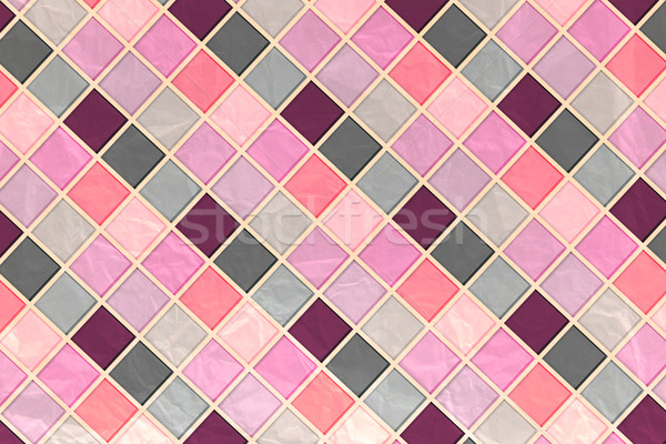 Pink Tile Mosaic Stock photo © Natali_Brill